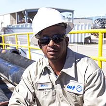 Elmus Conley, Hose Technician (Galveston)