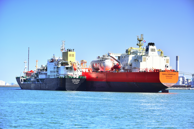 First LNG bunkering of Dual-Fuel Aframaxes