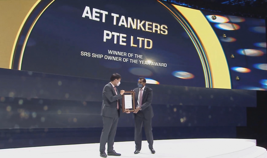 AET SRS Ship Owner of the Year 2021